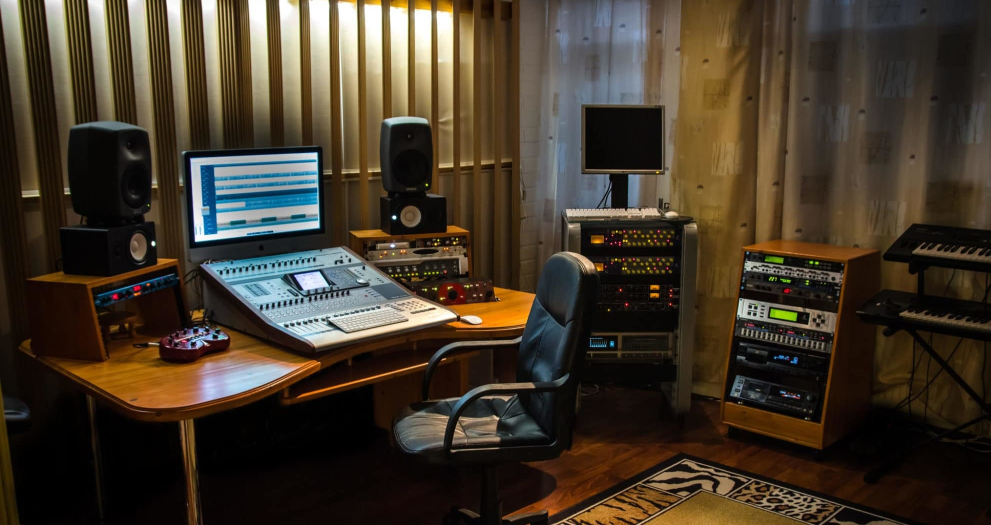 Luotettava ja viihtyisä äänitysstudio