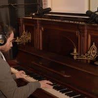 Pianoäänitystä levylle