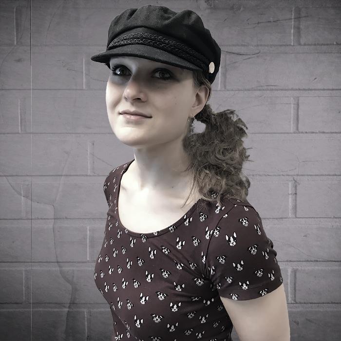 Anniina kuvassa